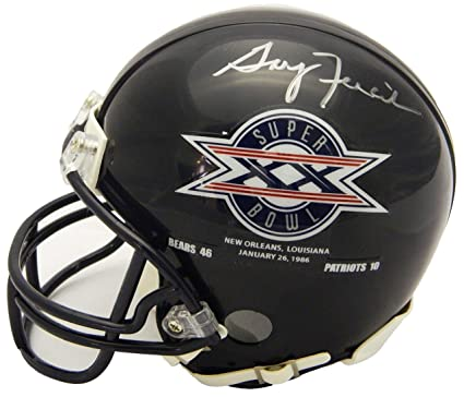 size 40 299c1 ccfd9 Amazon.com: Gary Fencik Signed Chicago Bears/Super Bowl XX ...