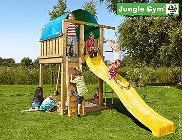 Klettergerüst Jungle : Jungle gym mansion playhouse rot garten kinder holz