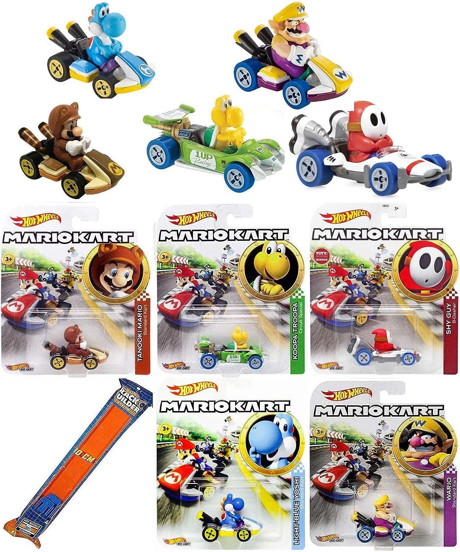 Mario Kart Hot Wheels Yoshi B Dasher Kart