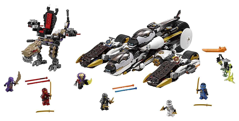 LEGO Ninjago 70595 Ultra Stealth Raider Building Kit (1093 Piece)