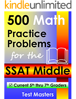 SSAT Format (Middle and Upper Level)