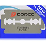 100 Dorco ST300 Double Edge Razor Blades/ Stainless Steel by Original Dorco