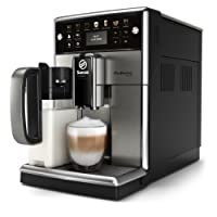 Saeco Kaffeevollautomat (LED Display, integriertes Milchsystem)