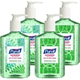 PURELL Advanced Hand Sanitizer Gel, Refreshing Aloe, Design Series, 8 fl oz Hand Sanitizer Counter Top Pump Bottle (Pack of 4) - 9674-06-ECDECO