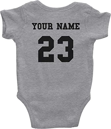 Personalized Gerber Baby Onesie Available in 3 sizes w// 55 text color options