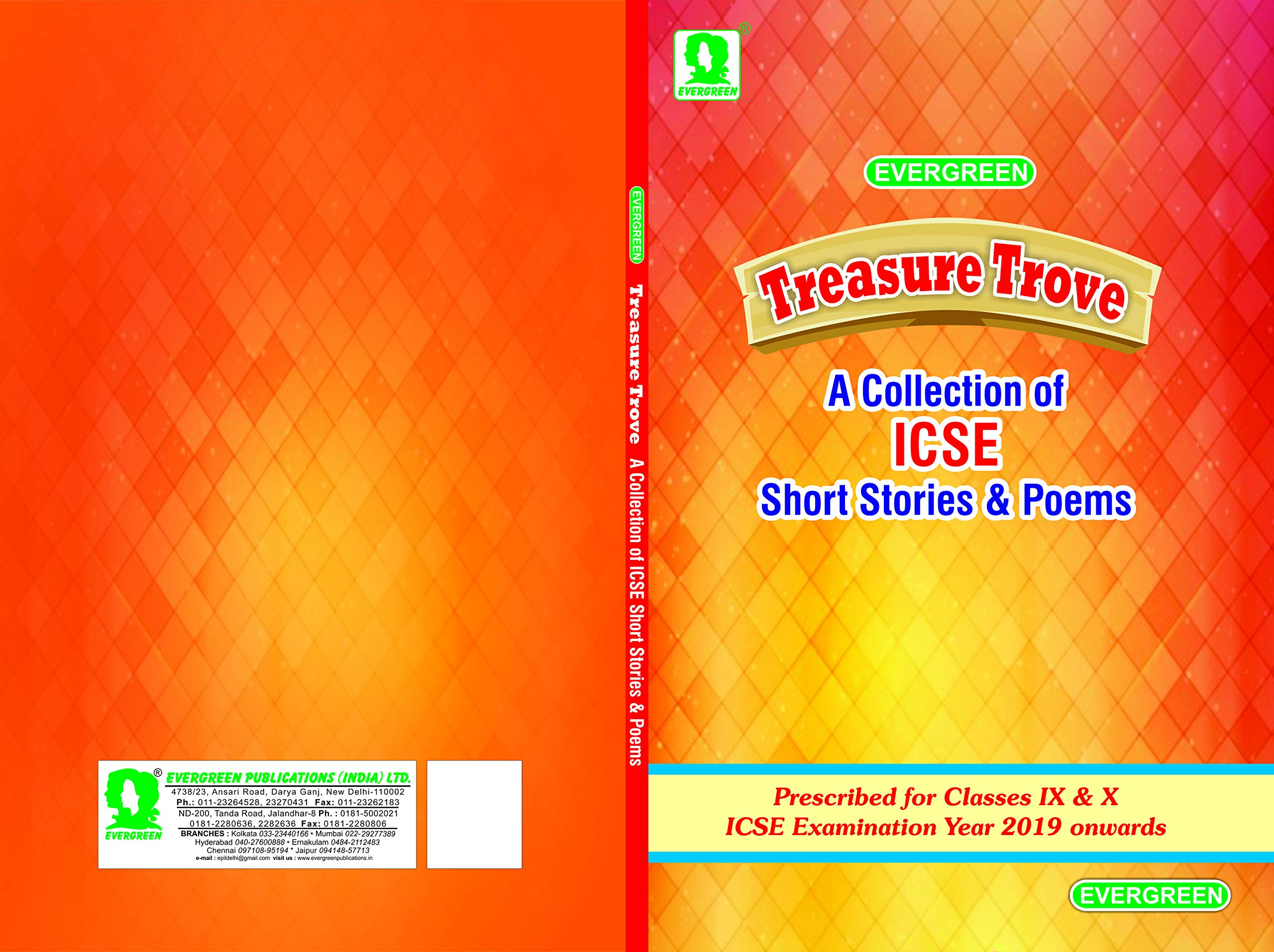 Trove Best Class 2021 Amazon.in: Buy Treasure Trove (A collection of ICSE Poems and