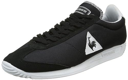 Unisex Adults Quartz Speckel Gum Low-Top Sneakers, Optical White/Dress Blue Le Coq Sportif