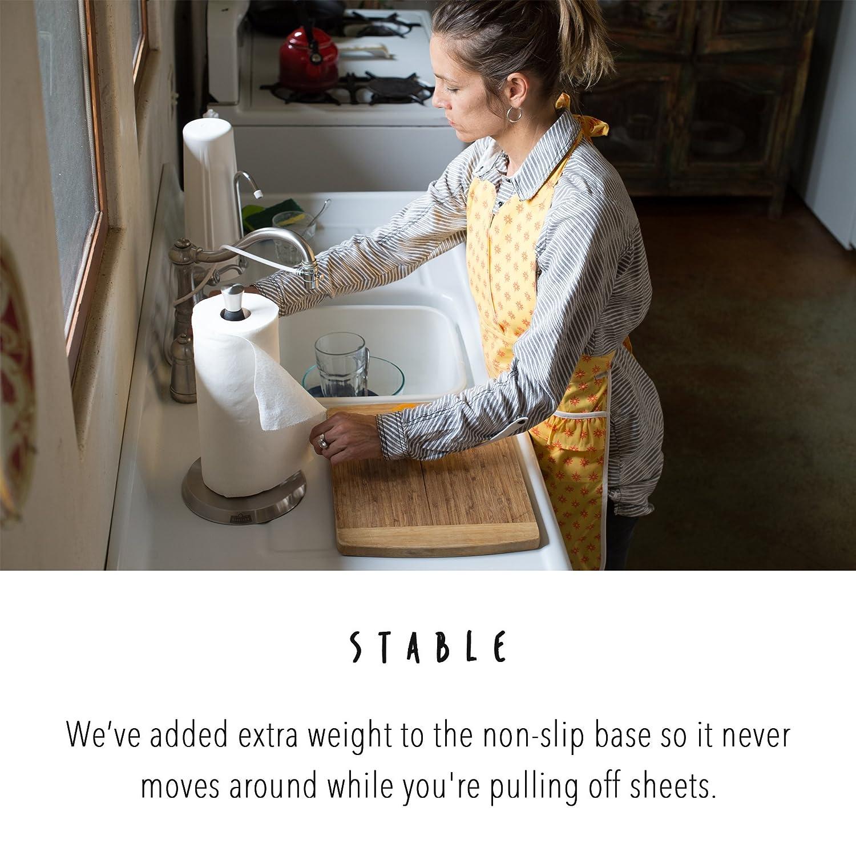 Vertical One Handed Paper Towel Holder GoodTurn
