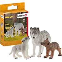 Schleich- Set de Figuras Cachorros, Colección Wild Life