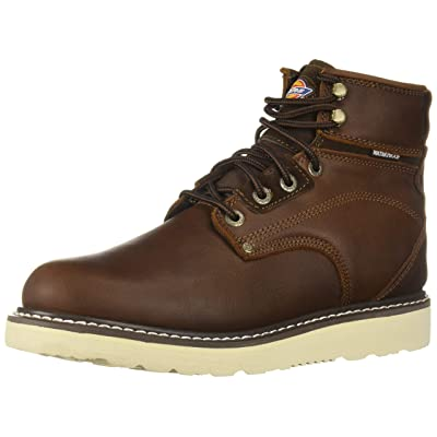 Dickies Men's Cannon Soft Toe Waterproof Construction Boot   Industrial & Construction Boots