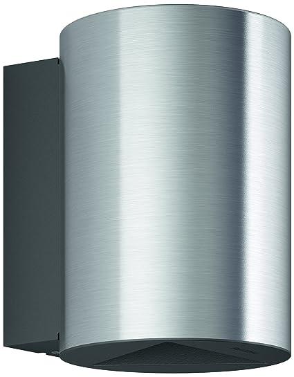 Philips myGarden Buxus - Aplique gris en acero inoxidable, LED integrado con garantía de 5 años, iluminación exterior