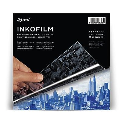 "Lumi Co. Inkofilm 8.5"" Square Inkjet, 10 pack: Arts, Crafts & Sewing"