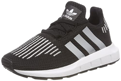 low priced e8cbf b1fda adidas Swift Run C, Chaussures de Fitness Mixte Enfant, Noir (Negbas Plamet
