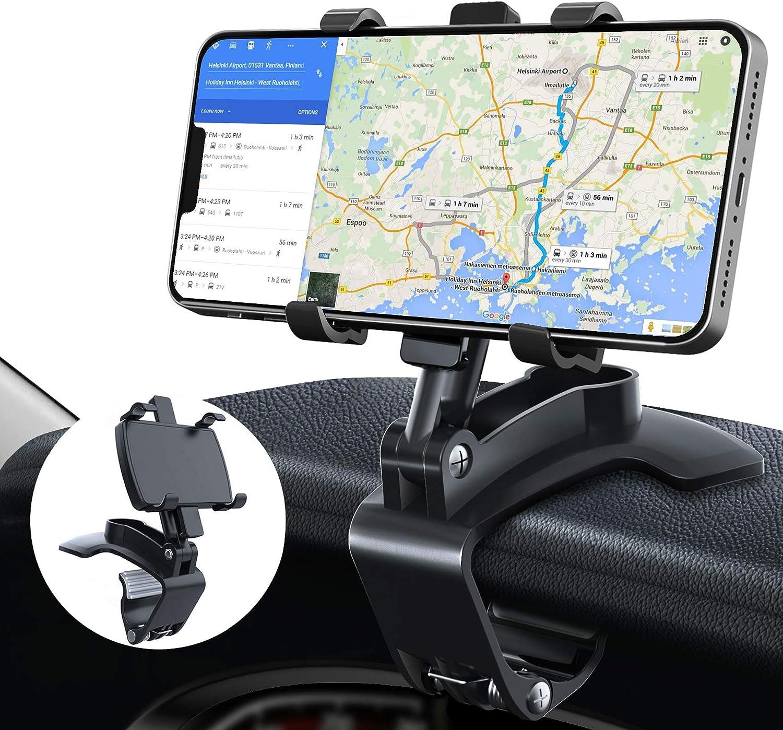 Gesma Handyhalterung Auto Handyhalter Fürs Auto Lüftung 360 Drehbar Flexibel Silikon Schutz Smartphone Halterung Auto Kompatibel