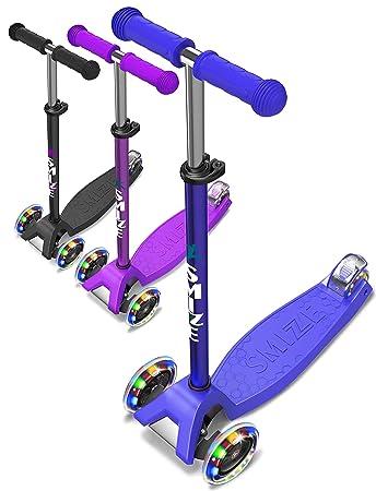 Amazon.com: SMIZZE Scooter Deluxe para niños de 3 a 9 años ...
