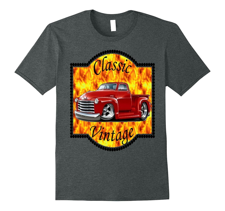 Classic Vintage Truck T Shirt-Art