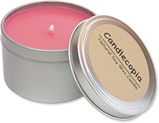 product image for Candlecopia Strongly Scented Hand Poured Vegan Travel Tin Candle, 8 Ounce Tin (Dragon's Blood)