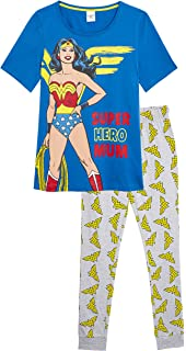 DC Comics Women/'s Wonder Women Short Pyjamas Size UK  6 to 24 Ladies