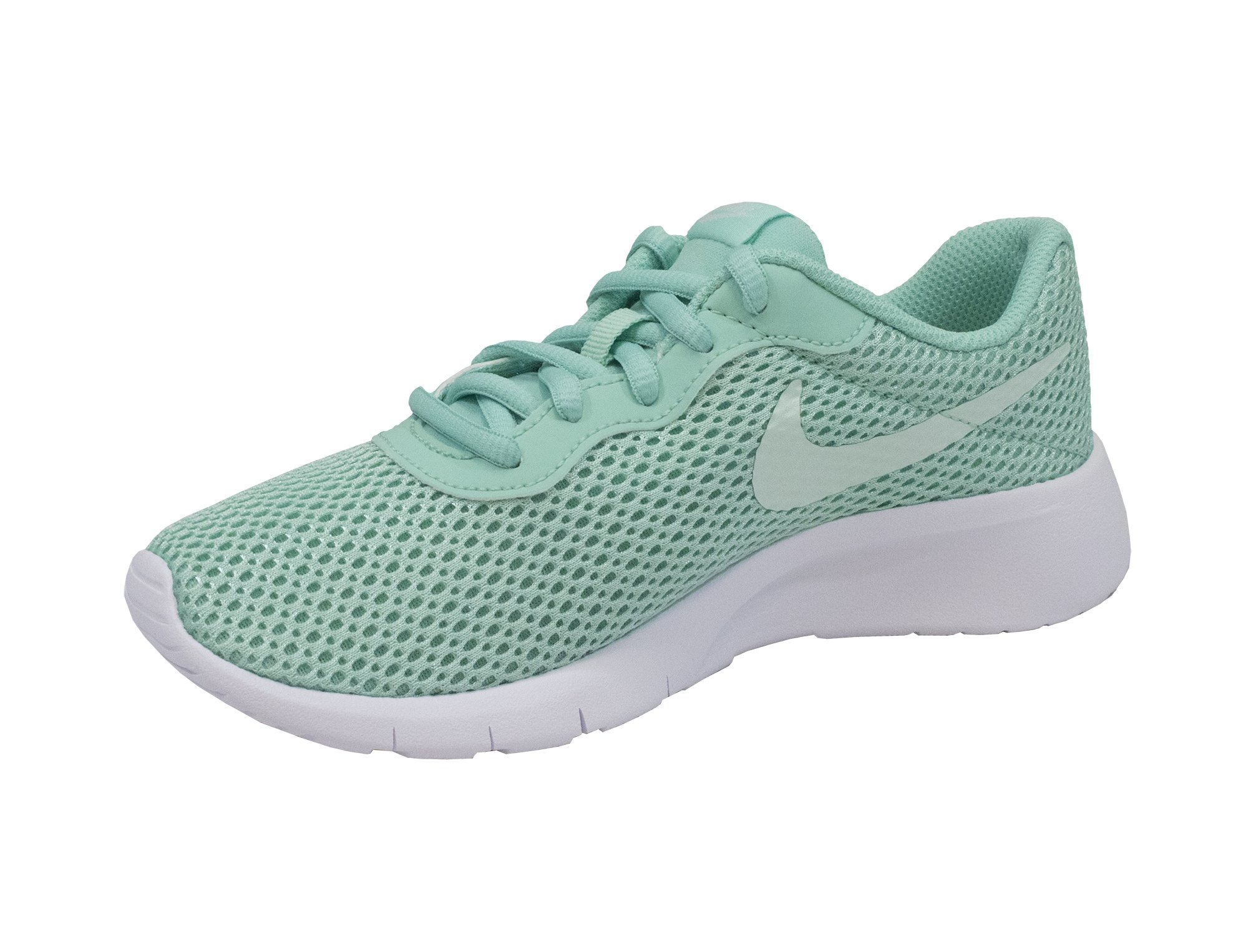 Nike Girl's Tanjun Shoe Emerald Rise/Igloo/White Size 1 M US