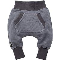 Pinokio - Happy Day - Pantalones de bebé 100% algodón Negro Pantalones de chándal, Pantalones de harén Pantalones…