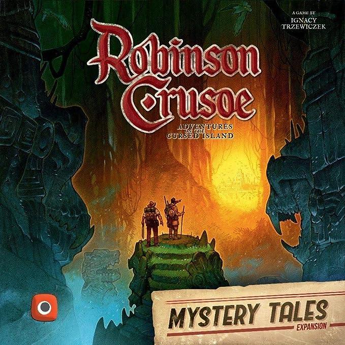Wydawnictwo Portal Pop 00379 No Robinson Crusoe: Mystery Tales ...