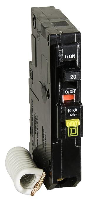 Square D por SCHNEIDER ELECTRIC qo120gficp qo qwik-gard 20 Amp ...