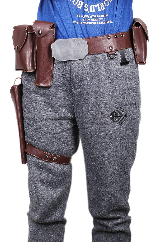 Luke Belt Adjustable PU Holster Buckle Cosplay Costume Accessories Xcoser