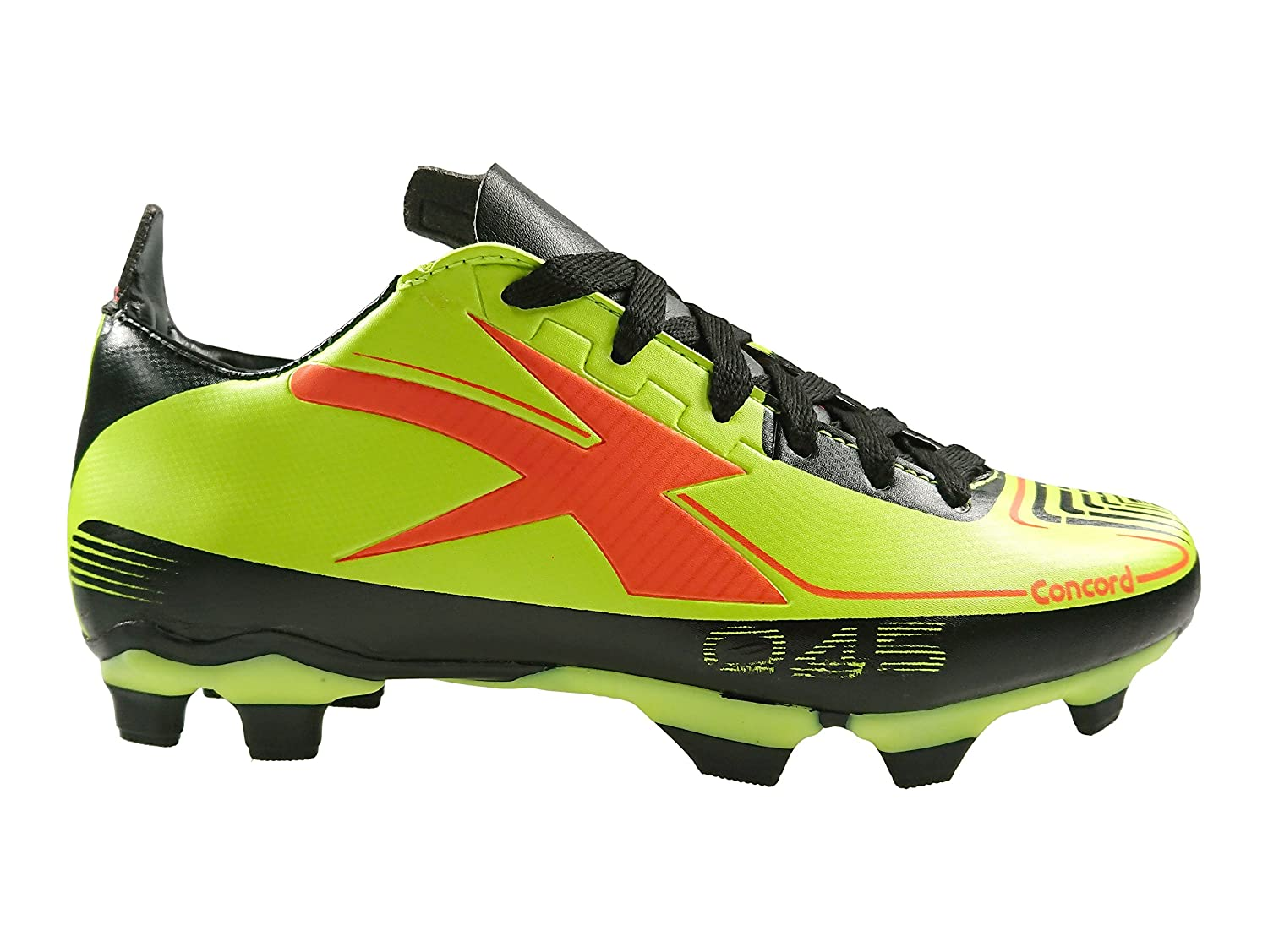 Authentic Concord Soccer Cleats Style S045CV Green Fluorescent B07CT9P6ZP Youth 5