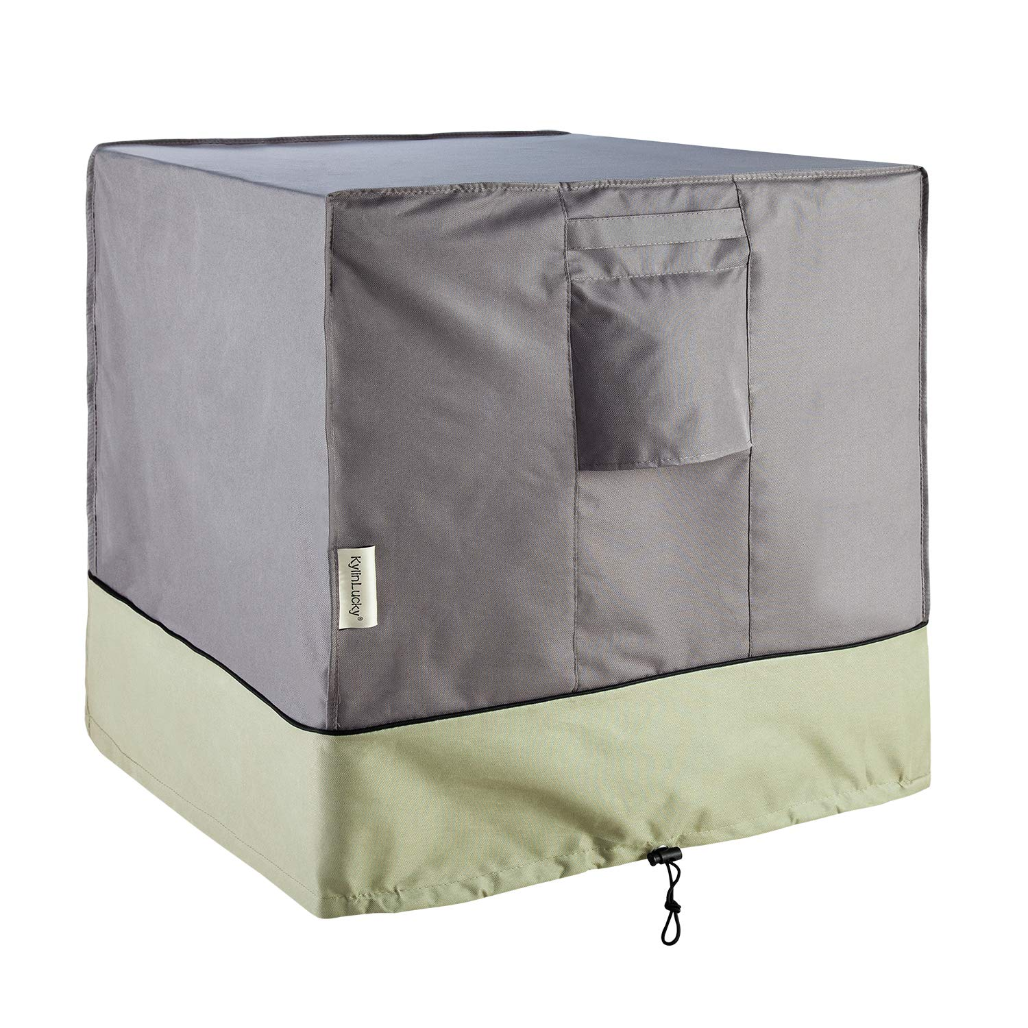 KylinLucky Air Conditioner Cover for Outside Units - Square Fits up to 34 x 34 x 38 inches