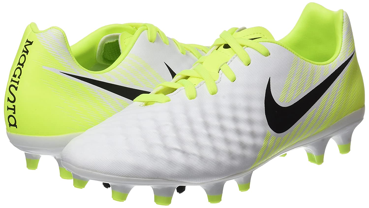 ea1475c93e44 Amazon.com | Nike New Men's Magista Onda II FG Soccer Cleat White/Volt 8 |  Soccer