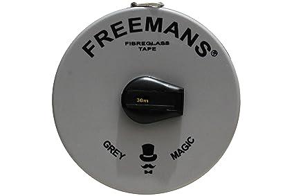 SD Enterprises 30 Meter / 100 Ft Freemans Fibra Fiber Glass Measuring Tape