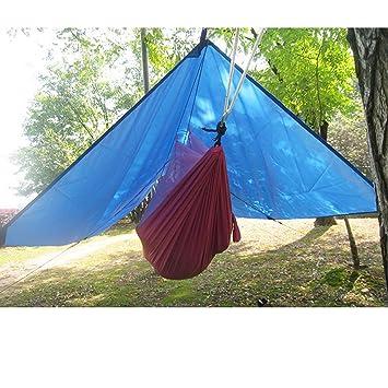 HMLifestyle-Large Rain Tarp Shelter Waterproof Hammock Tarp Lightweight for C&ing Tent TarpSunshade  sc 1 st  Amazon.com & Amazon.com : HMLifestyle-Large Rain Tarp Shelter Waterproof ...
