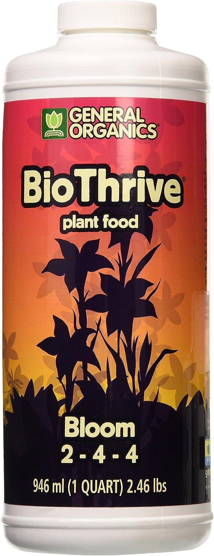 General Hydroponics GH5132 BioThrive Bloom, Quart, 1