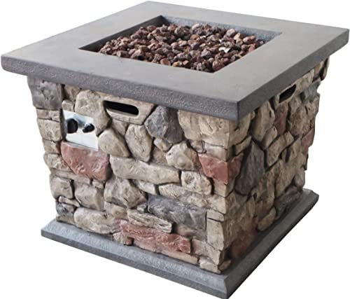 Christopher Knight Home Carson Outdoor Square Fire Pit