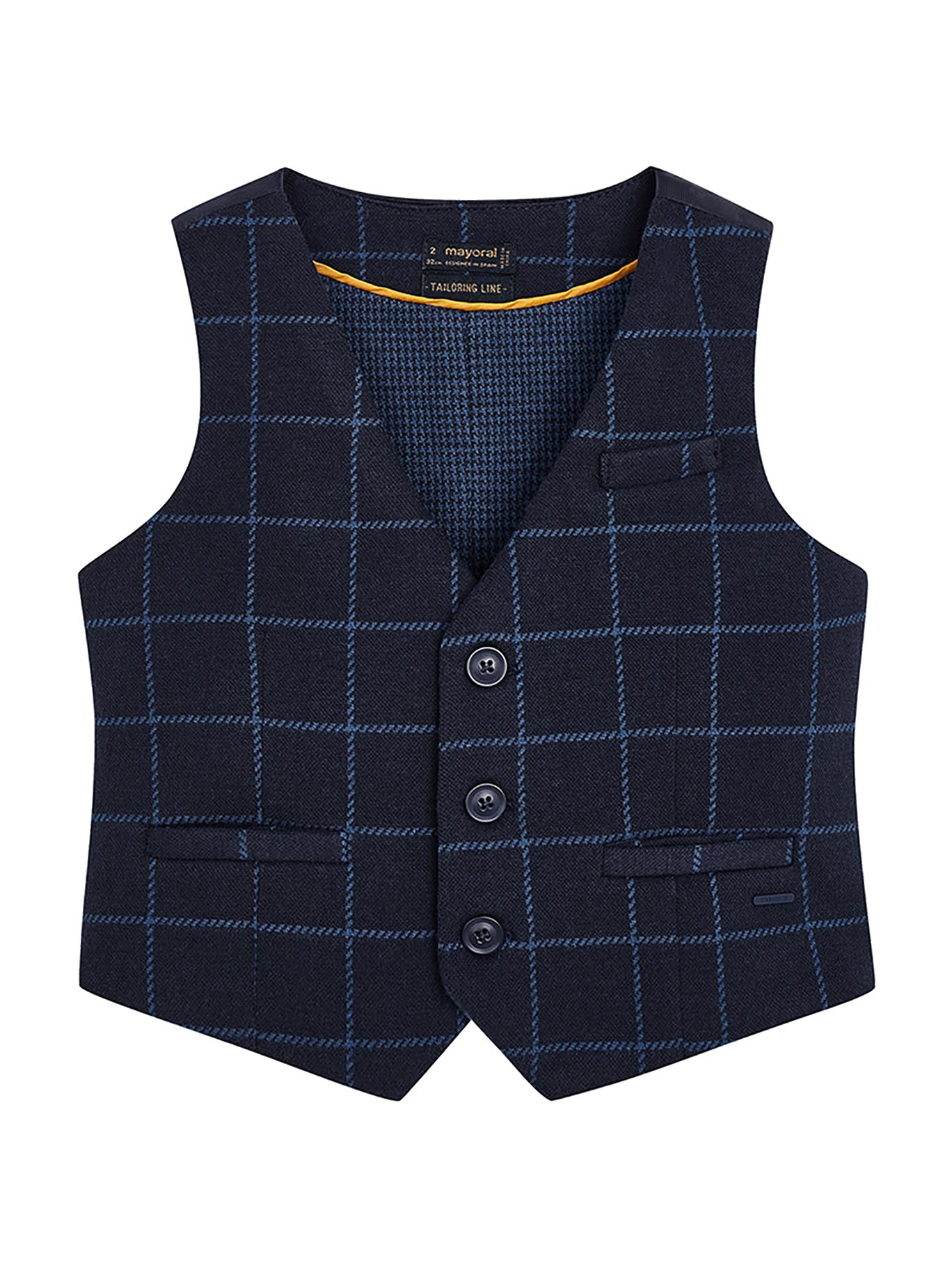 Mayoral 18-04465-057 - Combined Vest for Boys 4 Years Dark