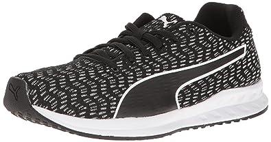 PUMA Women's Burst Multi WN's Cross-Trainer Shoe, Black White, ...
