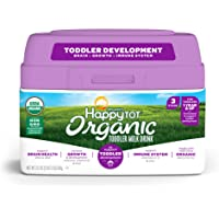 Happy Tot Milk Drink - Organic - Grow and Shine - Toddler - Powder - 23.2 oz - case of 4