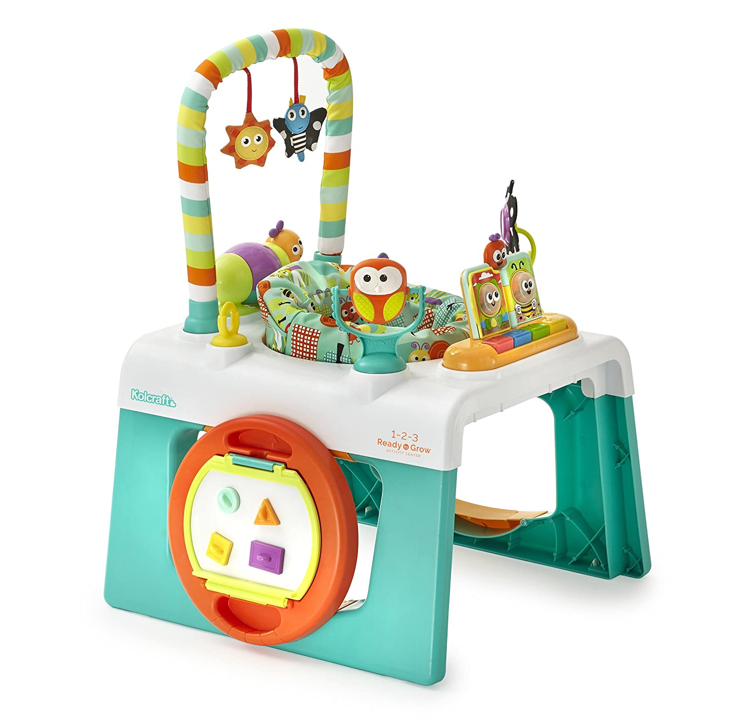Kolcraft 1 2 3 Ready To Grow Infant Toddler Activity Center 3