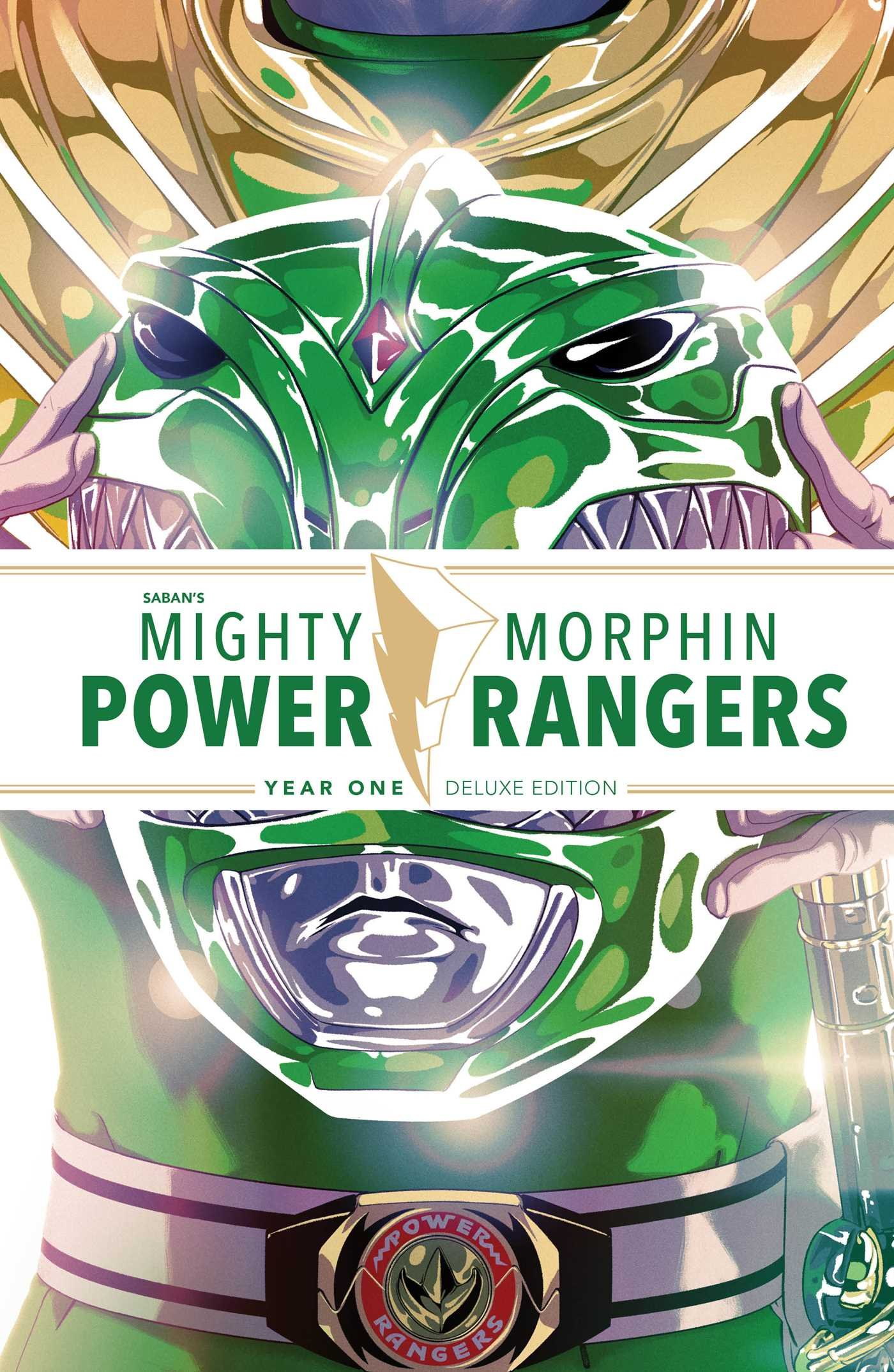Mighty Morphin Power Rangers Year One: Deluxe by BOOM! Studios (Image #1)