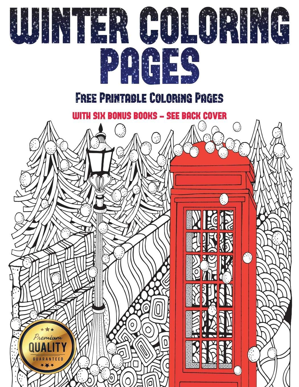Buy Free Printable Coloring Pages Winter Coloring Pages Winter