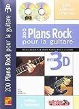Roberts Rudy 200 Plans Rock Pour La Guitare En 3D Guitar Book/Cd/Dvd