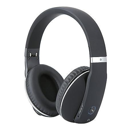 Whitelabel MusicStudio Cuffie stereo senza fili Bluetooth 4.0- Over Ear con  Microfono incorporato e batteria Ricaricabile ... aa99dae10981
