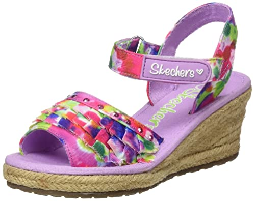 Skechers Tikis-Ruffle Ups, Alpargatas para Niñas: Amazon.es: Zapatos y complementos