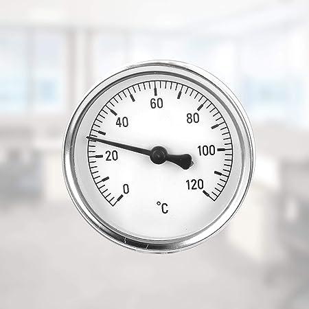 Lantelme 7951 Thermom/ètre analogique pour installations de chauffage et de climatisation 0 /à 120 /°C