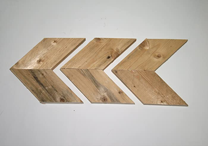 Amazon.com: Arrows, Rustic Raw Natural Wooden Pallet Arrow ...