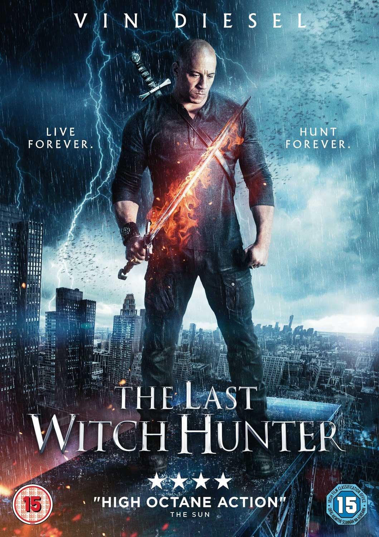 The Last Witch Hunter Dvd  Amazon Co Uk Vinsel Michael Caine Rose Leslie Elijah Wood Breck Eisner Dvd Blu Ray