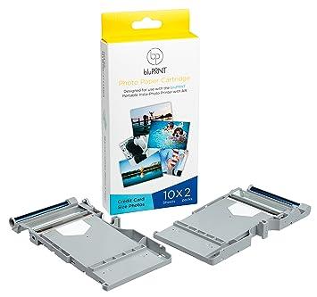 bluprnt 3.4 x 2.1 Pulgadas Premium Papel fotográfico láser ...