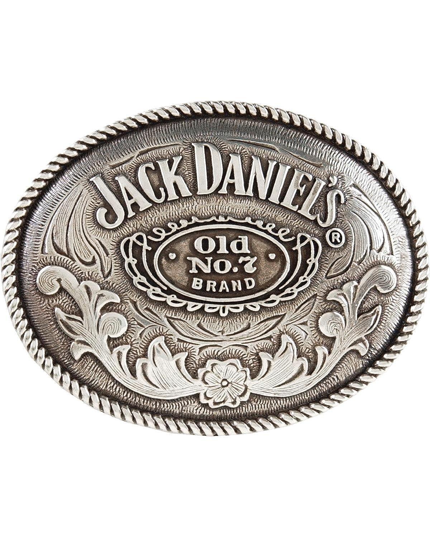 Jack Daniels Brand Men's Daniel's Old No. 7 Belt Buckle - 5008JD