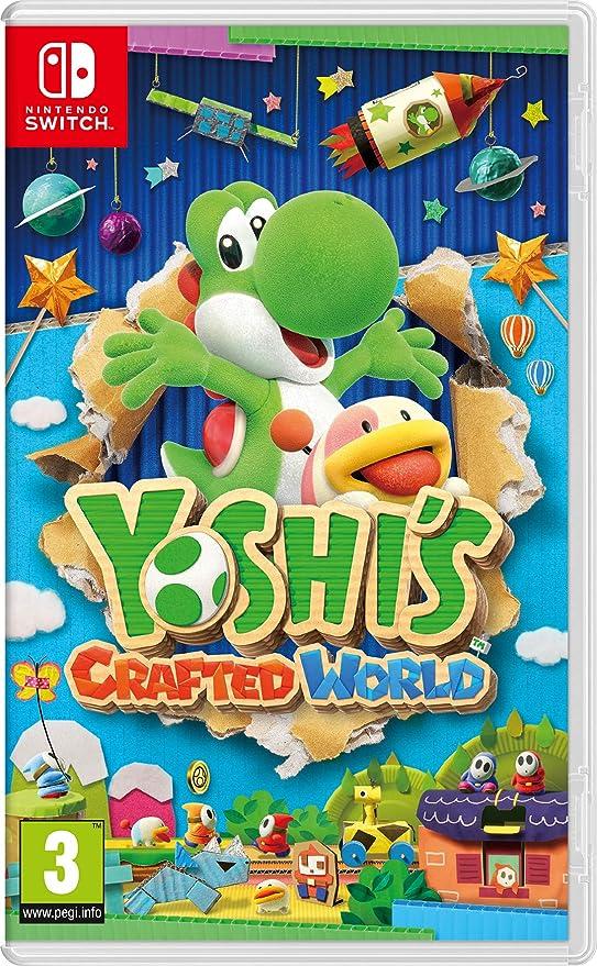 Yoshis Crafted World (Nintendo Switch) [Importación Inglesa - Juegos en Español]: Amazon.es: Videojuegos