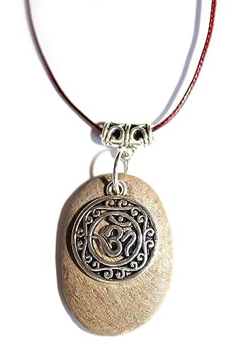 Collar con el símbolo del OM/Joyas espirituales/Regalo mujer ...